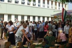 Ballagás és tanévzáró ünnepség 2012