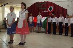 Március 15-i ünnepség 2012