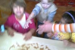 Mézeskalács készítés az oviban 2012