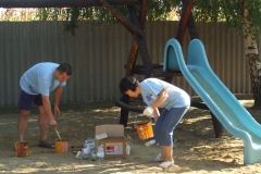 Óvoda udvarának felújítása