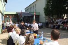 Tanévzáró és ballagás 2011