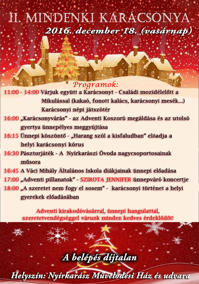 mindenki karácsonya 2