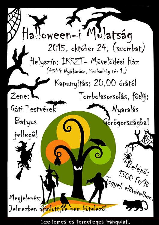 halloween plakát
