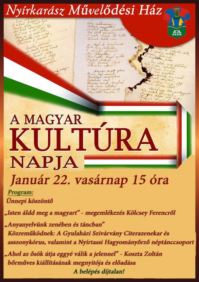 magyar kultúra napja jó